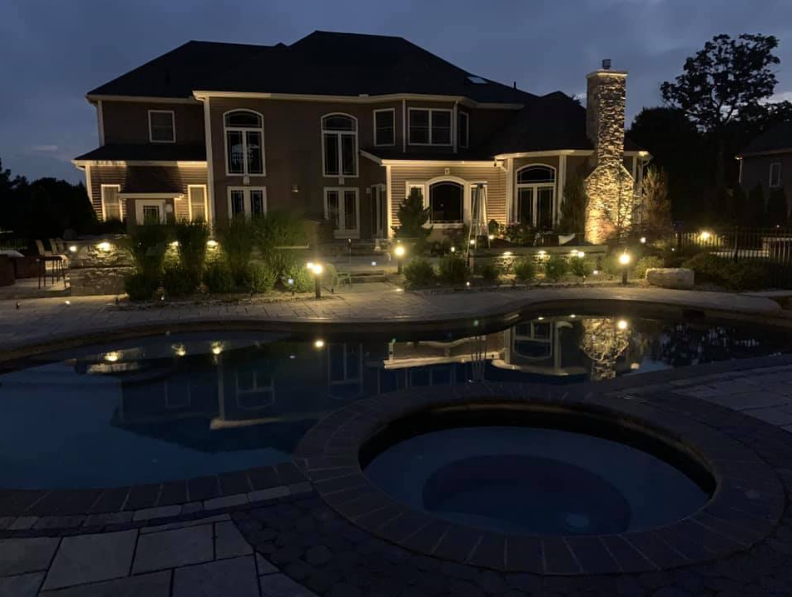 landscape lighting Rocky Hill CT