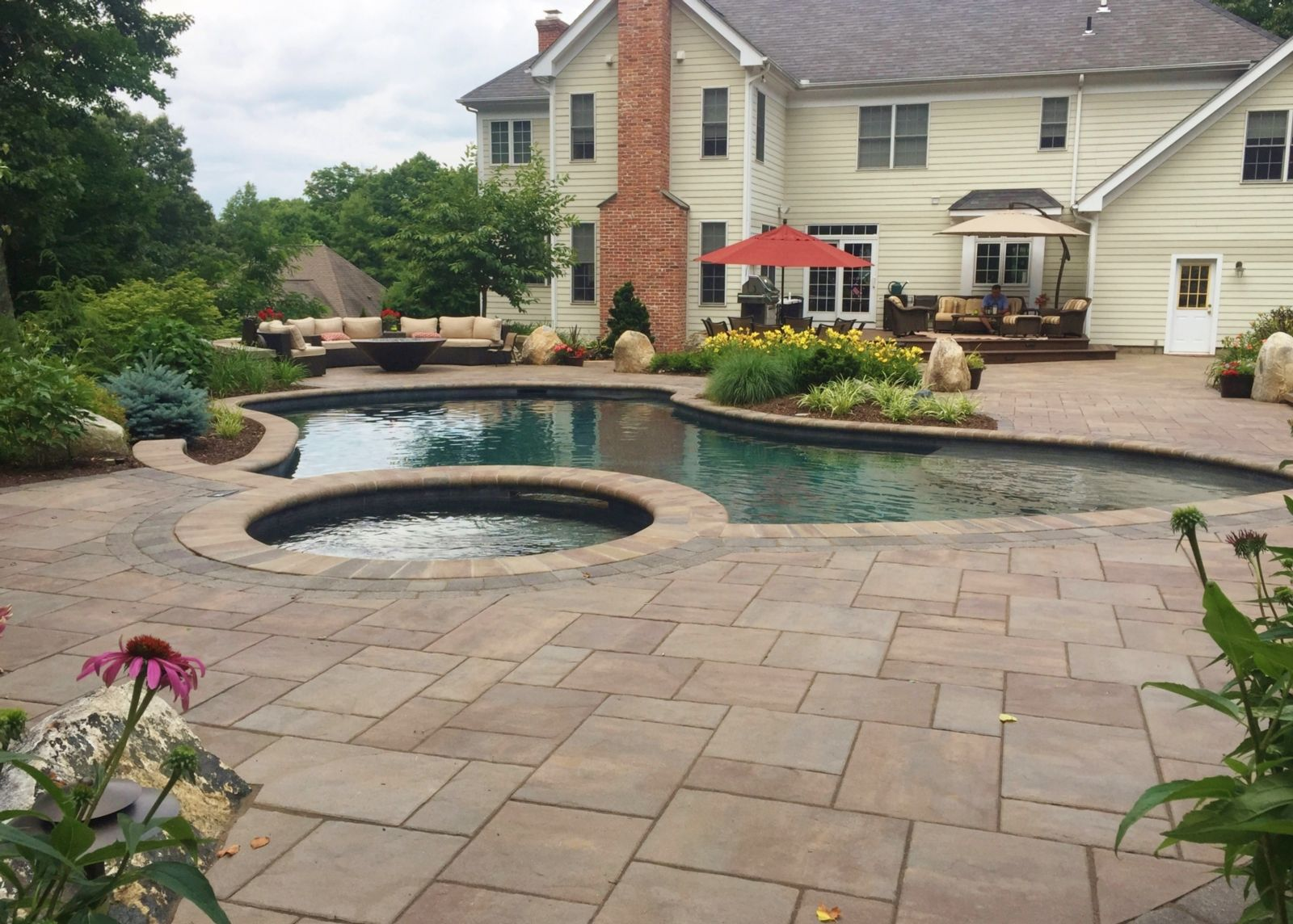 Clarke Landscapes | Landscape Design Farmington CT ...