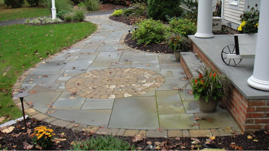 Walkway Landscape Design CT