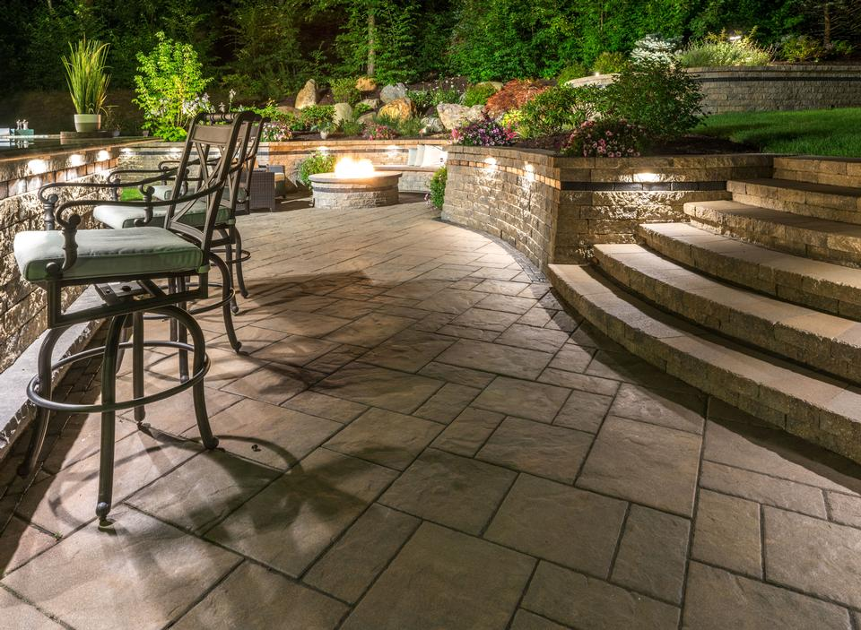 Top outdoor lighting in Glastonbury CT - patio